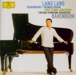 TCHAIKOVSKY - Lang - Concerto pour piano n°1 en si bémol mineur op.23