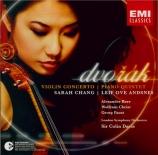 DVORAK - Chang - Concerto pour violon op.53
