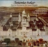 SOLER - Widmer - Concertos (6) pour 2 orgues