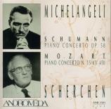 SCHUMANN - Scherchen - Concerto pour piano et orchestre op.54