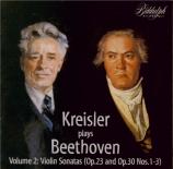 BEETHOVEN - Kreisler - Sonate pour violon et piano n°4 op.23