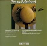 SCHUBERT - Chmura - Symphonie n°7 en mi majeur D.729 (esquisse inédite)