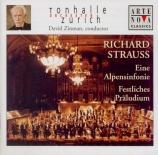 STRAUSS - Zinman - Eine Alpensinfonie, pour grand orchestre op.64