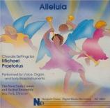 Alleluia - Chorale Settings by Michael Praetorius