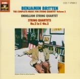 BRITTEN - Endellion Quart - Quatuor à cordes n°2 en do majeur op.36