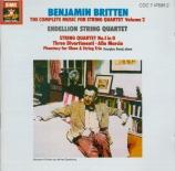 The Complete Music for String Quartet vol.2