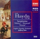 HAYDN - Tate - Symphonie n°96 en mi bémol majeur Hob.I:96 'Miracle'