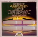 BEETHOVEN - Suk - Concerto pour violon op.61