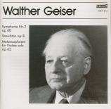 GEISER - Lehel - Symphonie n°2