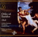 GLUCK - Karajan - Orfeo ed Euridice (version italienne) Live Salzburg, 5 - 8 - 1959