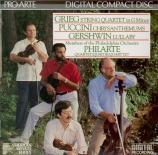Quatuor op.27 - Crisantemi - Lullaby