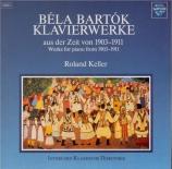 Klavierwerke aus der Zeit von 1903-1911