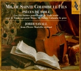SAINTE-COLOMBE - Savall - Six suites pour basse de viole seule