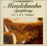 MENDELSSOHN-BARTHOLDY - Brüggen - Symphonie n°1 op.11