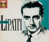 BACH - Lipatti - Partita pour claviern°1 en si bémol majeur BWV.825