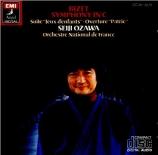 BIZET - Ozawa - Symphonie pour orchestre en ut majeur (1855) WD.33 Import Japon