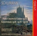 SCHUMANN - Maag - Concerto pour piano et orchestre en la mineur op.54