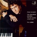 SCHUBERT - Lewis - Sonate pour piano en la majeur D.959