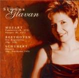 MOZART - Glavan - Fantaisie pour piano K.475