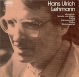 LEHMANN - Holliger - Dis-cantus I