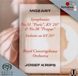 MOZART - Krips - Symphonie n°31 en ré majeur K.297 (K6.300a) 'Paris'