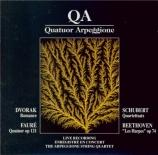 FAURE - Quatuor Arpeggi - Quatuor à cordes en mi mineur op.121