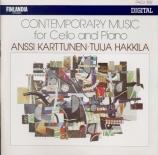 Musique contemporaine pour violoncelle et piano