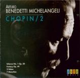 CHOPIN - Michelangeli - Scherzo pour piano n°1 en si mineur op.20
