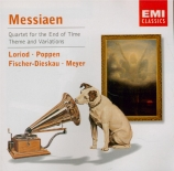 MESSIAEN - Loriod - Quatuor pour la fin du temps