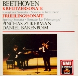 BEETHOVEN - Zukerman - Sonate pour violon et piano n°9 op.47