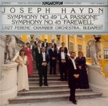 HAYDN - Rolla - Symphonie n°49 en do majeur Hob.I:49 'La passione'