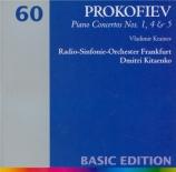 PROKOFIEV - Krainev - Concerto pour piano n°1 op.10