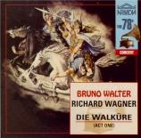 WAGNER - Walter - Walkyrie (La) : acte 1