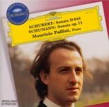 SCHUBERT - Pollini - Sonate pour piano en la mineur op.42 D.845