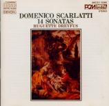 SCARLATTI - Dreyfus - Sonate pour clavier en sol majeur K.337 L.S26 Import Japon