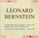 CARPENTER - Bernstein - Sea-drift