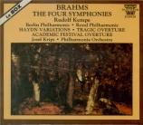BRAHMS - Kempe - Symphonies (intégrale)