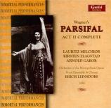 WAGNER - Leinsdorf - Parsifal WWV.111 : acte 2