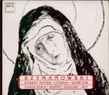 SZYMANOWSKI - Wit - Stabat Mater