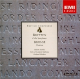 BRITTEN - Hickox - Symphonie pour violoncelle et orchestre op.68
