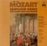 Sämtliche Werke für Horn und Orchester