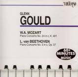 MOZART - Gould - Concerto pour piano n°24 K.491