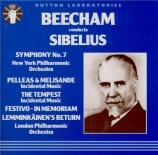 SIBELIUS - Beecham - Symphonie n°7 op.105