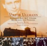 ULLMANN - Conlon - Symphonie n°2 en ré majeur (d'après la sonate pour pi