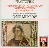 PRAETORIUS - Munrow - Danses de Terpsichore