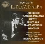 DONIZETTI - Schippers - Il duca d'Alba (live Spoleto 11 - 6 - 59) live Spoleto 11 - 6 - 59