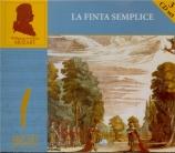 MOZART - Hager - La finta semplice (La fausse ingénue), opéra bouffe en