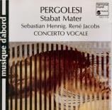 PERGOLESE - Hennig - Stabat Mater