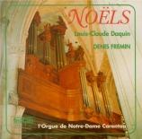 DAQUIN - Fremin - Douze Noëls pour orgue