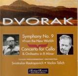 DVORAK - Talich - Symphonie n°9 op.95 'du Nouveau Monde'